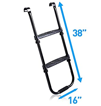Pure Fun Trampoline Accessory: Trampoline Ladder With 2 Platform Steps 2