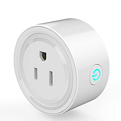 Wifi Smart Plug, Control devices from anywhere from your phone, Works with Amazon Alexa/Google Home