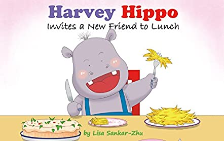 Harvey Hippo Invites a New Friend to Lunch