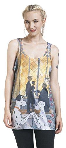 101 Dalmatiner Pongo & Perdi Top Mujer multicolor L