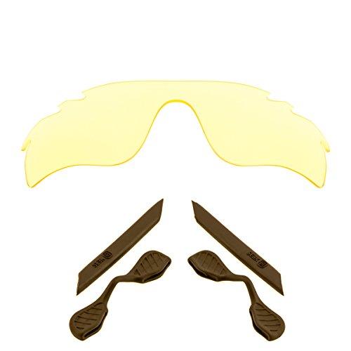 Lenses Kit Compatible with OAKLEY (V) RADARLOCK PATH Polarized Hi Yellow & Brown