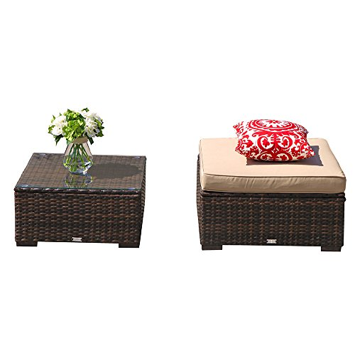 Most bought Patio Ottomans
