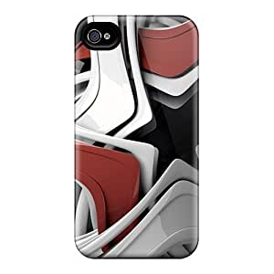 Cases Covers Sphere Circular 3d/ Fashionable Cases For Iphone 4/4s