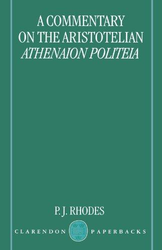 A Commentary on the Aristotelian Athenaion Politeia (Clarendon Paperbacks) by Clarendon Press