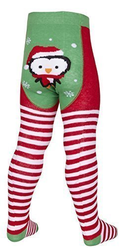 babies-girls-toddlers-cotton-rich-novelty-christmas-tights-0-2-years-0-6-months-penguin