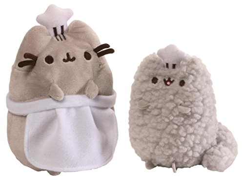 GUND Pusheen and Stormy Birthday Stuffed Animal
