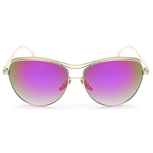 UV pour Femmes Gris Peggy Air Plein Colorées Voyage Couleur Gu en Exquise UV Lunettes Violet Voyager Les Protection Cate Lunettes de Yeux PPAwvSFq