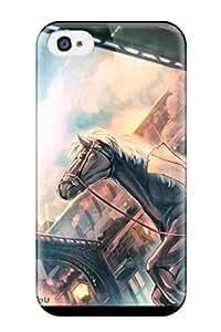 New Design Shatterproof SAmCiuf3858WqkUE Case For Iphone 4/4s (original Animal Blue Building Cape Dress Gloves Hat Horse Kurobuta Gekkan Original Paper Pinkshort ) hjbrhga1544