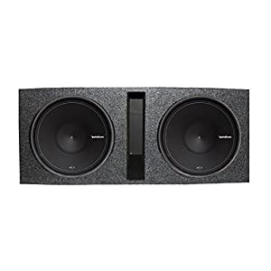 "Rockford Fosgate 15"" 500W Subwoofer (Pair) + Q Power Dual 15"" Ported Enclosure"