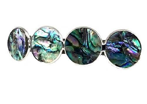 (Abalone Shell Hair Clip Barrette)