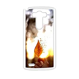 Artistic disappearing leaf lovely phone case for LG G3