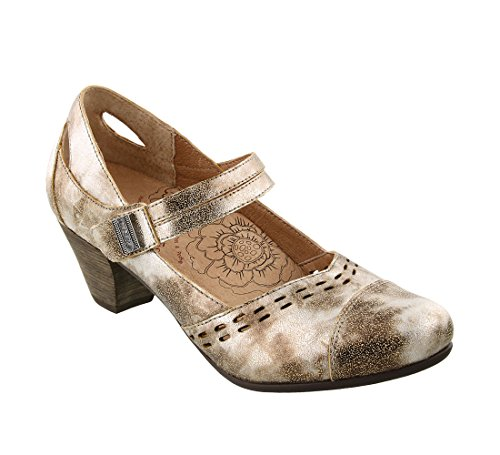 Taos Women's Full Vintage Leather Stunner Grain Mary Footwear Silver Jane a5raqR