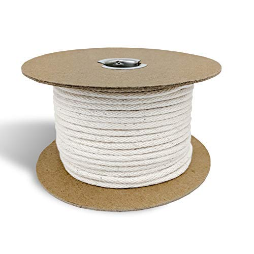 Upholstery Cotton Piping Welt Cord for Furniture/Crafts, 50yd Spool- Made in USA