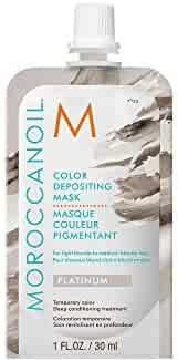 Moroccanoil Color Depositing Mask Packette, Platinum