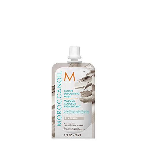 🥇 Moroccanoil Mascarilla Con Color Platinum – 30 ml