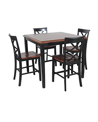 powell-15d2002bl-harrison-counter-set-black-cherry