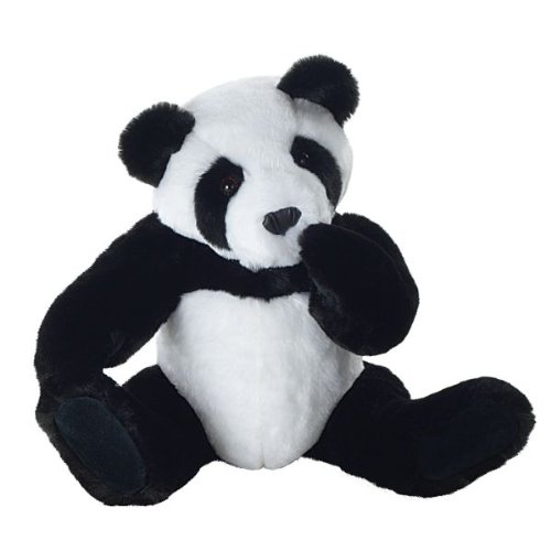 Vermont Teddy Bear - Huggable Panda Bear, 20 inches, Black and White - Made in the USA