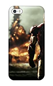 Series Skin Case Cover For Iphone 5/5s(iron Man)