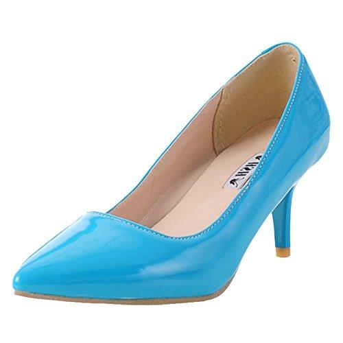 Femmes blue Talons Escarpins JOJONUNU Moyen d15WI