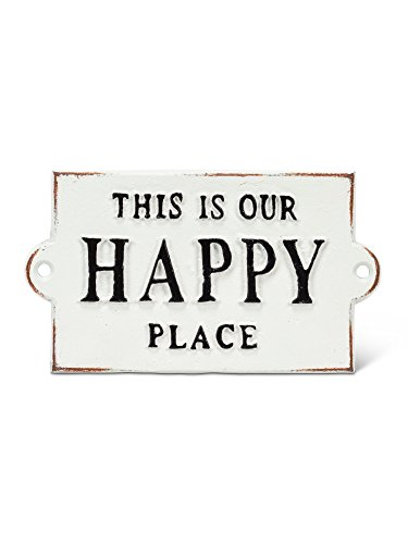 Abbott Collection 27-FORGE/103 Happy Place Sign, Happy Place, Happy Place ()