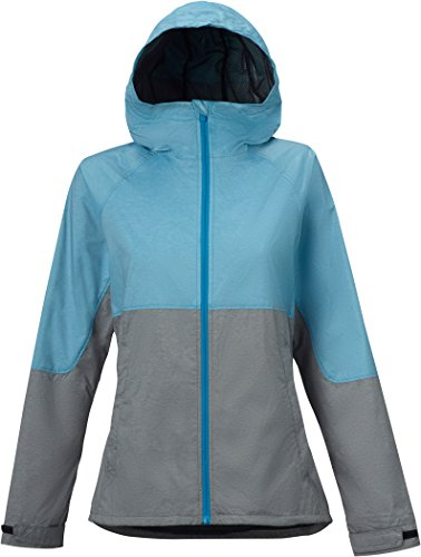 Burton Women's Berkley Jacket, Hydro Heather/True Black Heather, Medium
