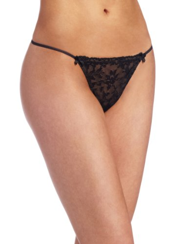 Felina Women's Harlow Low Rise g-string Panty, Black, X-Large