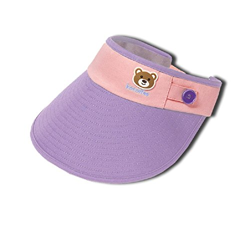 RockFoxOutlet 2017 New summer style boys girls Sun hat, cotton breathable, anti-static and puvioresistant visor for children,100% cotton, 6 colours , 19.68-21.26 inch. for $<!--$12.99-->