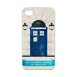 DiyCaseStore Customized Doctor Who and Sherlock iPhone 4 4S Hard Case Cover Protector Gift Idea