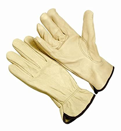 Large Inc Straight Thumb Pack of 12 Seattle Glove 4364-L Gloves Grain Driver