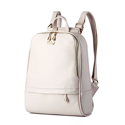 flake-rain-womens-simple-preppy-style-pu-leather-daypack-student-backpack-white