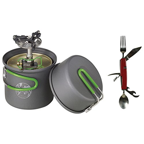 - Optimus Crux Lite w/Terra Solo Cook Set Stove System w/ Free Separating Chowset