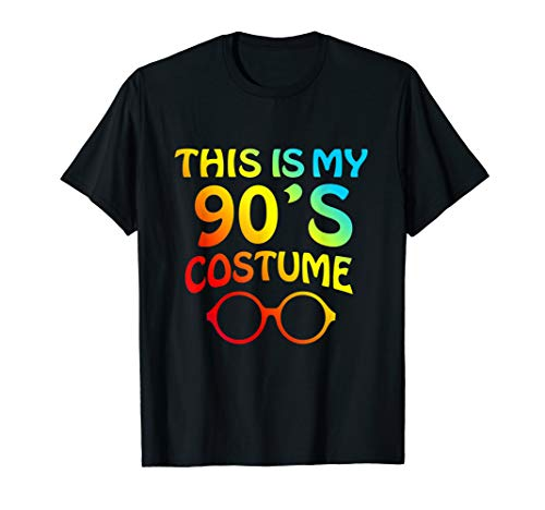 This Is My 90s Costume Shirt Halloween Costume T Shirt -