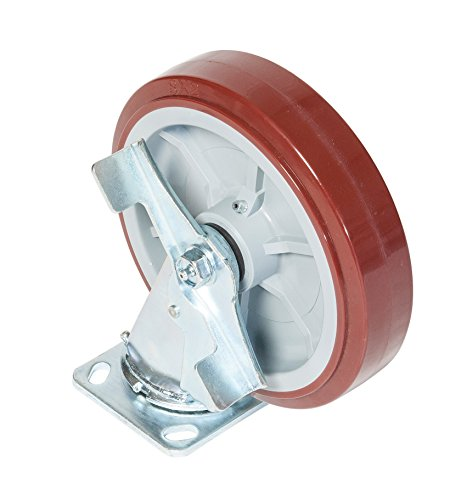 Greenlee CS8 Performance Caster Swivel with Brake, (Greenlee Parts)