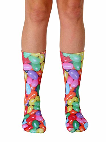 Living Royal Photo Sublimation Crew Socks (Jelly Bean)