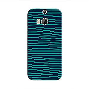 Cover It Up - Dark Teal Wood One M9 PlusHard Case