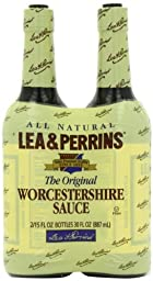 Lea & Perrins Original Worcestershire Sauce, 15 fl oz - Pack of 2