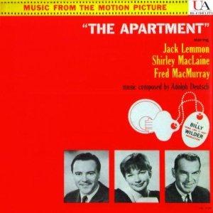 The Apartment: Original Motion Picture Soundtrack [Vinyl Lp United Artists 3105]