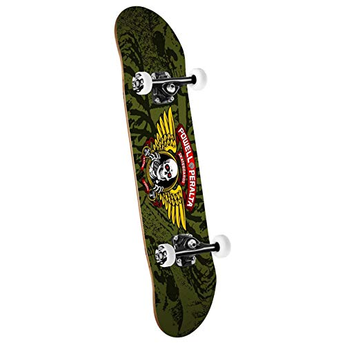 Powell-Peralta Winged Ripper Green Complete Skateboard