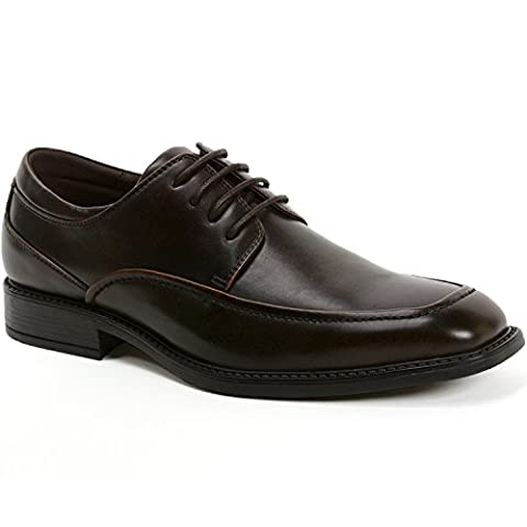 Alpine Swiss Claro Mens Oxfords Suede Lined Lace Up Dress Shoes Brown 12 M US (Swiss Mens Classic)