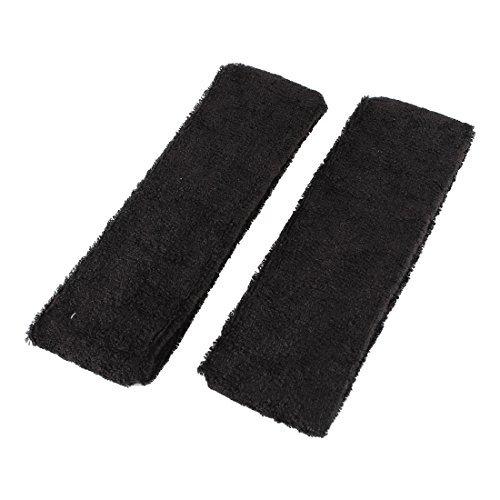 Terry Bandeau (eDealMax Dames Terry Tissu Sport Bandeau Stretch Hairband 6cm Largeur 2pcs)