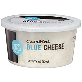 Amazon Brand - Happy Belly Blue Cheese Crumbles, 6 Ounce