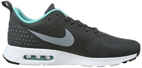 Nike Air Max Tavas - Zapatillas de Entrenamiento Hombre Negro (Negro (Anthracite/White-Clr Jade-Blk))
