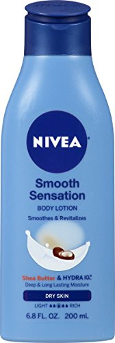 NIVEA Smooth Daily Moisture Body Lotion 6.8 Fluid Ounce (Nivea Creme Moisture)