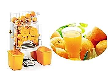 Compra 200e-2 comercial de acero inoxidable automático naranja Extractor Exprimidor de limones en Amazon.es