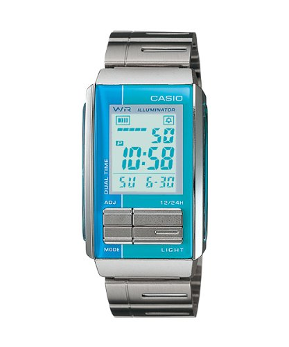 Casio LA201W 2A2 Futurist Chronograph Digital