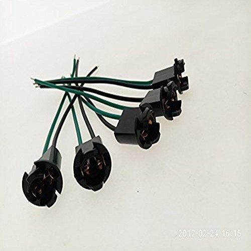 5 Wire Socket - ZYHW T10 W5W LED Light Bulb Socket Wire Connector 5 Pcs