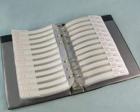 Kammas 80valuesX50pcs=4000pcs 0201 0.3pf - 1uf SMD Ceramic Capacitor Kit Sample Book Sample Kit