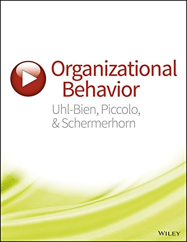 Organizational Behavior WileyPLUS Learning Space Registration Card + Print Companion