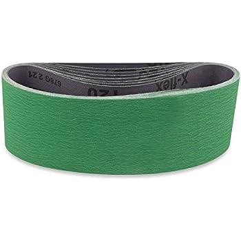 4 X 21 Inch 36 Grit Metal Grinding Ceramic Sanding Belts
