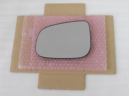 HEATED Mirror Glass for VOLVO S60 S80 V60 JAGUAR XF XJ XK VANDEN Driver Side View Left LH ()